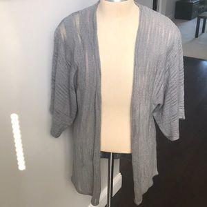 Sweaters - Short sleeve cardigan sweater